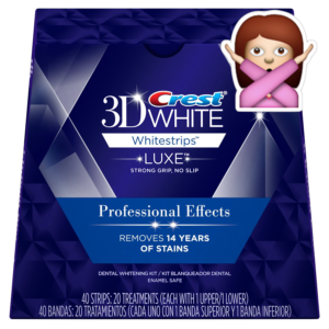 no teeth whitening products