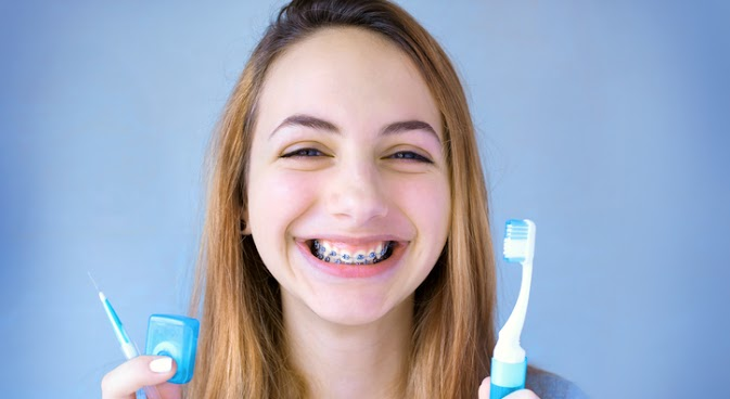 How to Brush Teeth with Braces